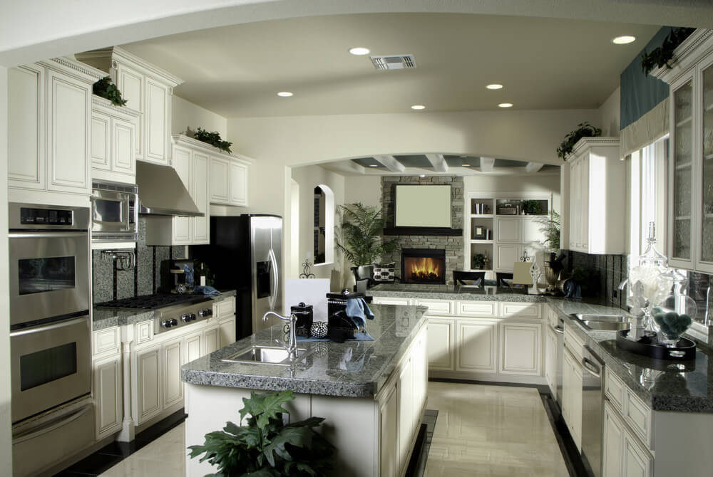 U Shaped Kitchen Design With Island 41 luxury u-shaped kitchen designs & layouts (photos) | home