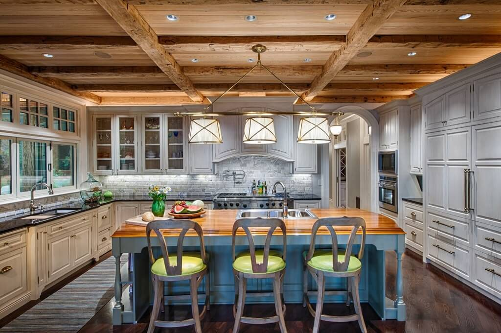 Custom Luxury Kitchen Designs That Cost More Than - High end kitchen island lighting