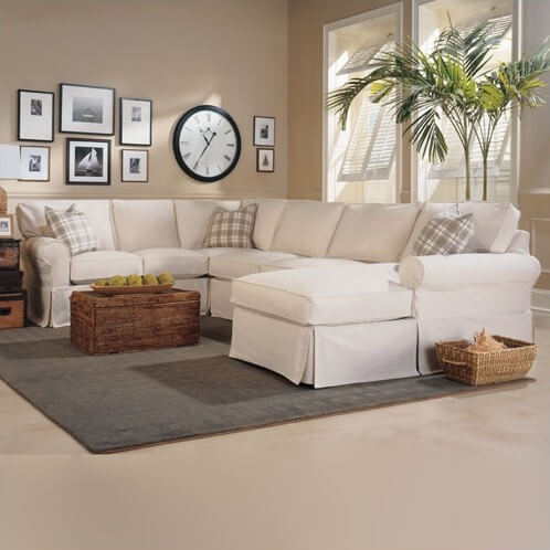 Sustainable Hardwood Frame Sectional