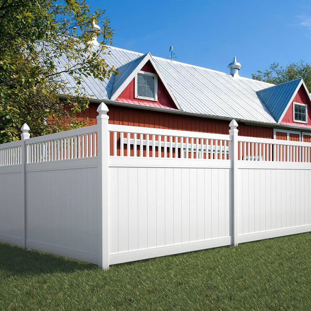 Fence designs styles patterns tops materials and ideas