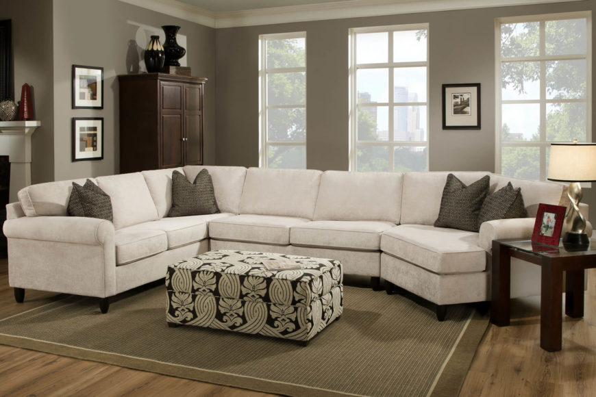 Three Piece Wraparound Sectional