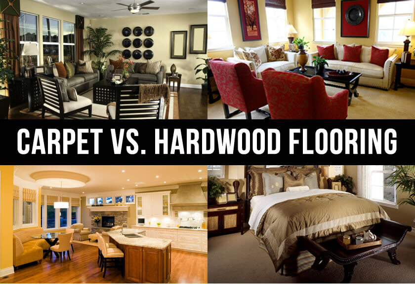 Carpet Vs Hardwood Flooring Each Has Their Own Benefits - Cost difference between carpet and hardwood floors