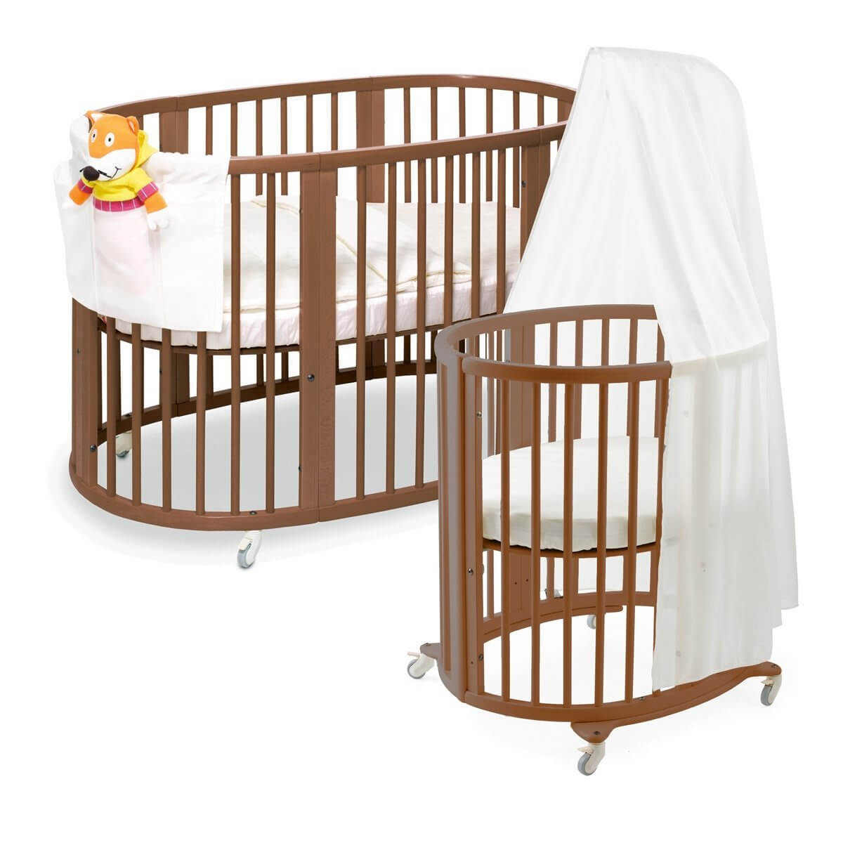 Design Round Baby Beds 16 beautiful oval round baby cribs for unique nursery decor cribs