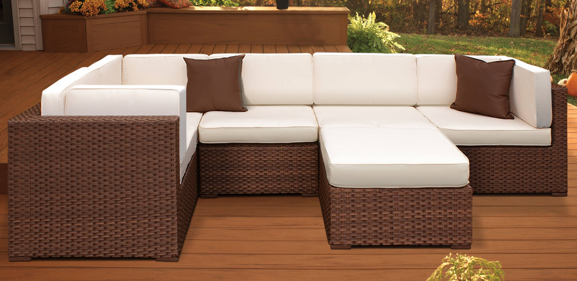 Fresh Wicker Sectional Patio Furniture