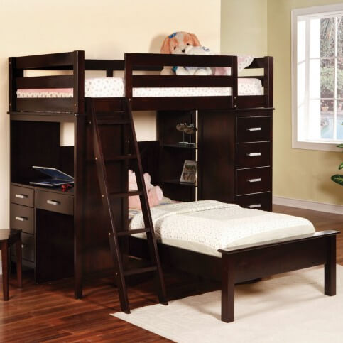 21 Top Wooden L Shaped Bunk Beds With Space Saving