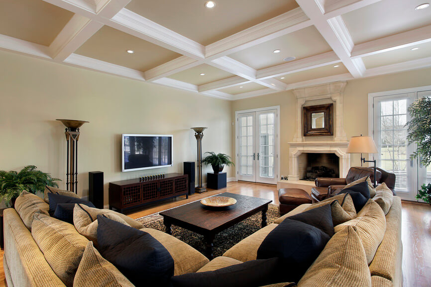 This Is What I Call An Elegant Family Room. Itu0027s Beautiful And Comfortable.  Not