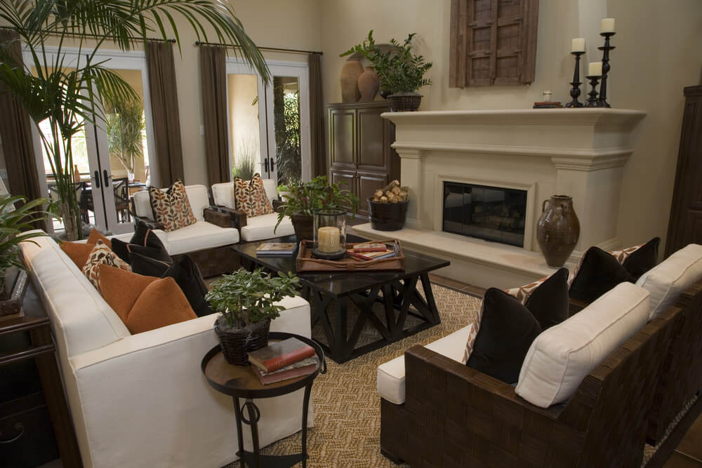 36 Elegant Living Rooms that are Richly Furnished amp Decorated : lr5 from www.homestratosphere.com size 1000 x 667 jpeg 87kB
