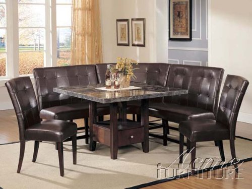 5. Acme 6 Piece Breakfast Nook