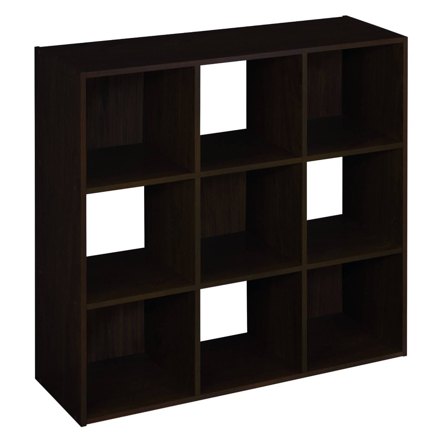 Heres Another Simple 9 Cube Shelf With Checkered Pattern Achieved Alternating Which Sections Have