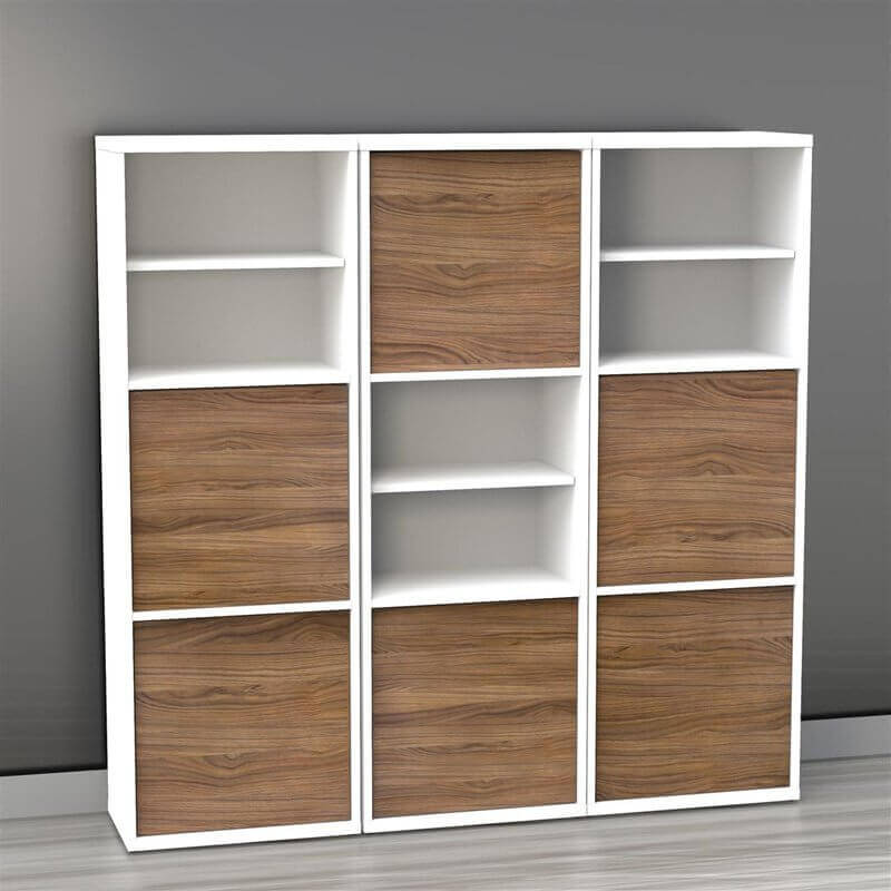 This Is A Very Simple 9 Cube Shelving Unit. However, Some Of The