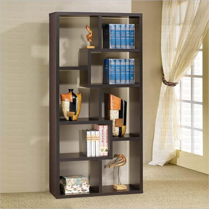 100 images backless bookshelves