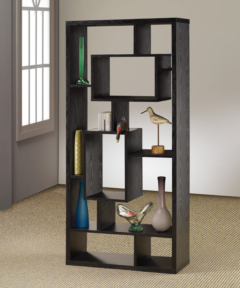 this is a very popular 10 cube asymmetric cube shelving unit backless with varying - Wall Sized Bookshelves