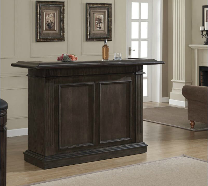 ... This Is A Very Simple Home Bar That Offers A Decent Amount Of Storage  Including A