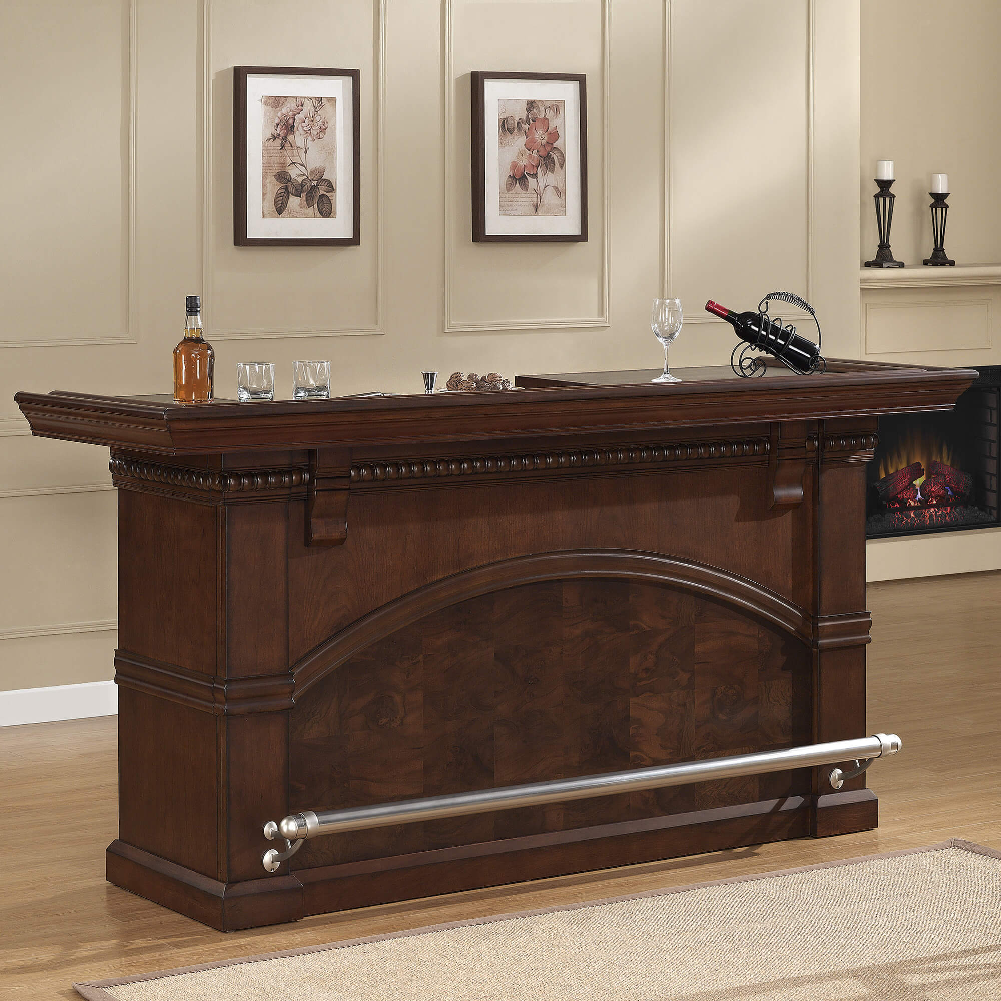 Laminate Puter Small Bar For Living Room Home Portable This is a beautiful home bar unit with sturdy foot railing, extensive  storage including a