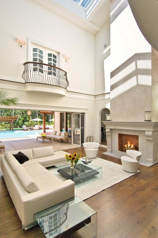 54 Living Rooms With Soaring 2 Story Amp Cathedral Ceilings