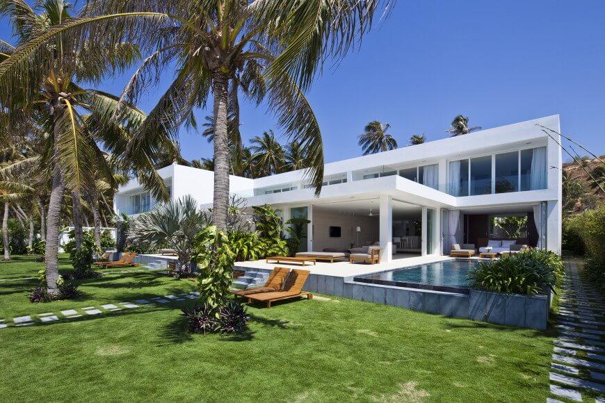 Mm Architects Creates Tropical Waterfront Quot Oceanique Quot Villas