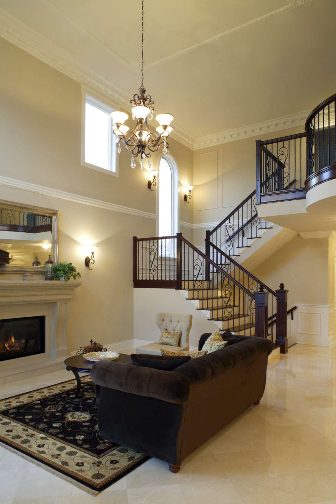 The Upstairs-Downstairs Connection: Picking the Right Stair Treatment