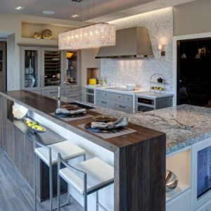 Airy Modern Kitchen by Drury Design