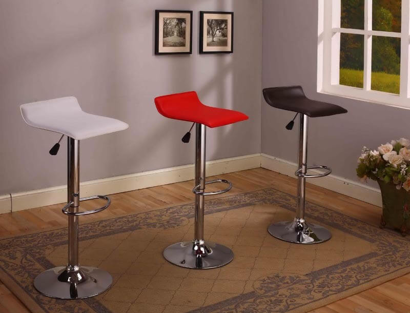 2multi colored stool set