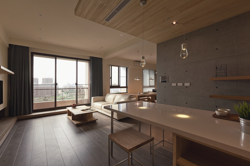 contemporary residence best minimalist home designs | Der Xin House - Modern Minimalist Home Design by PartiDesign