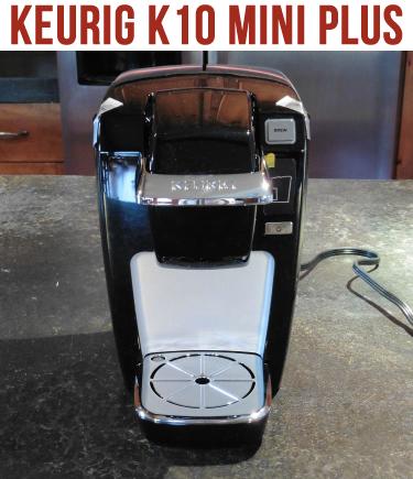 Keurig K10 Mini Plus Coffee Brewing System Coffee Maker