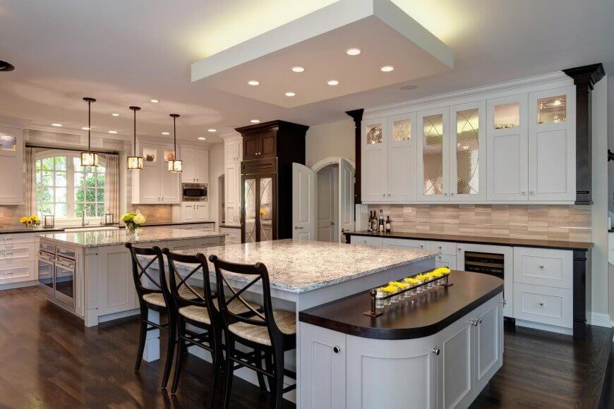 32 magnificent custom luxury kitchen designs by drury design for House plans with large kitchens