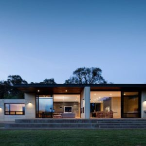 Merricks House by Robson Rack Architects