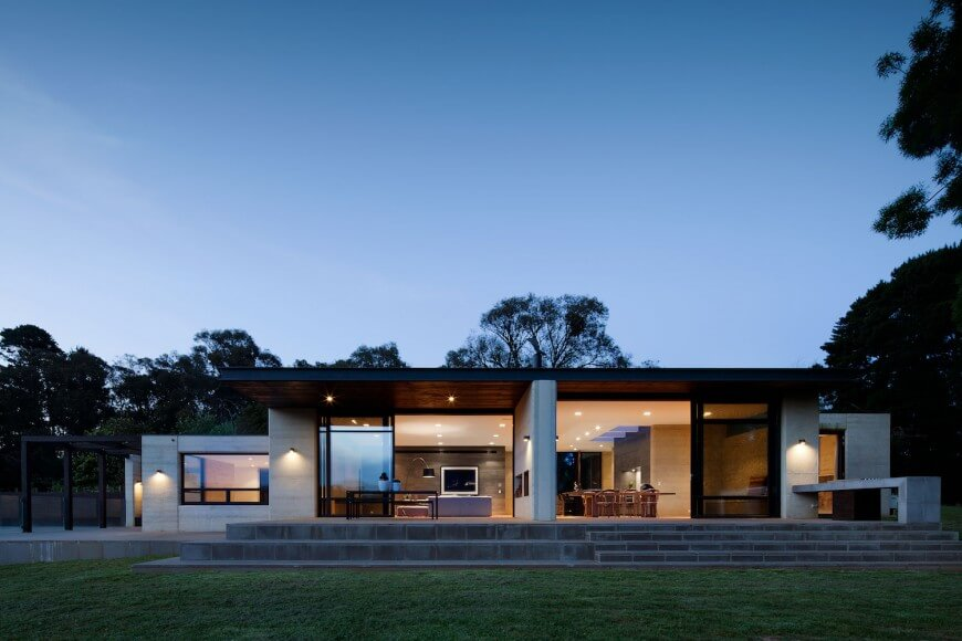 Merricks House by Robson Rack Architects