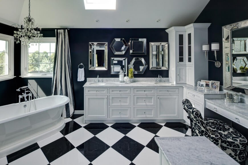 white master bathrooms. Elegant Parisian Inspired Master Bath By Drury Design White Bathrooms