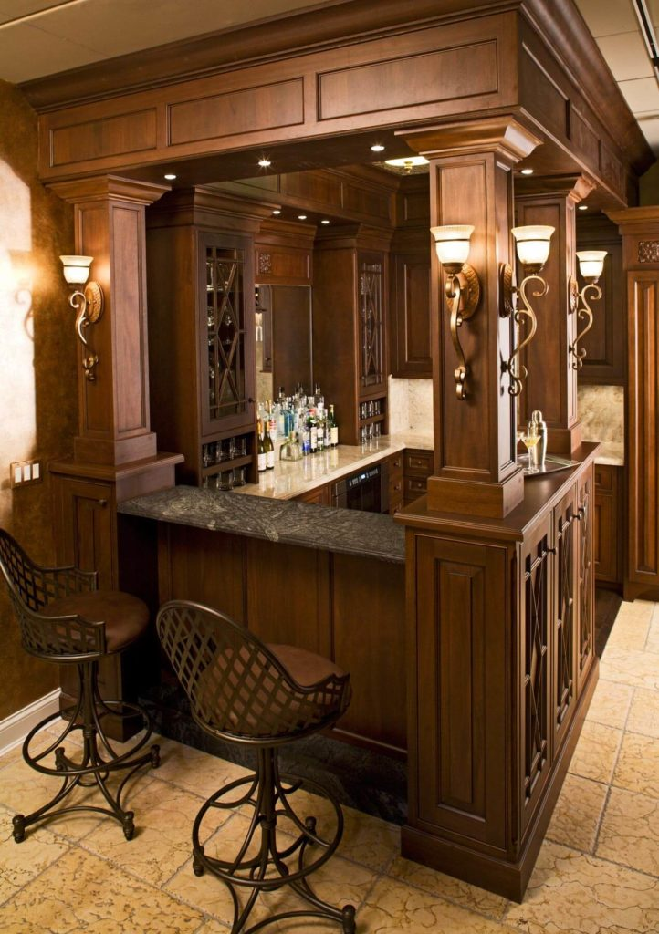 15 Custom Luxury Home Bar Designs By Drury Design