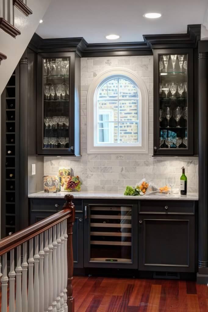 15 custom luxury home bar designs by drury design - Built in home bar ...