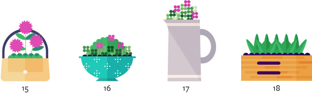 More unique flower container and planter ideas