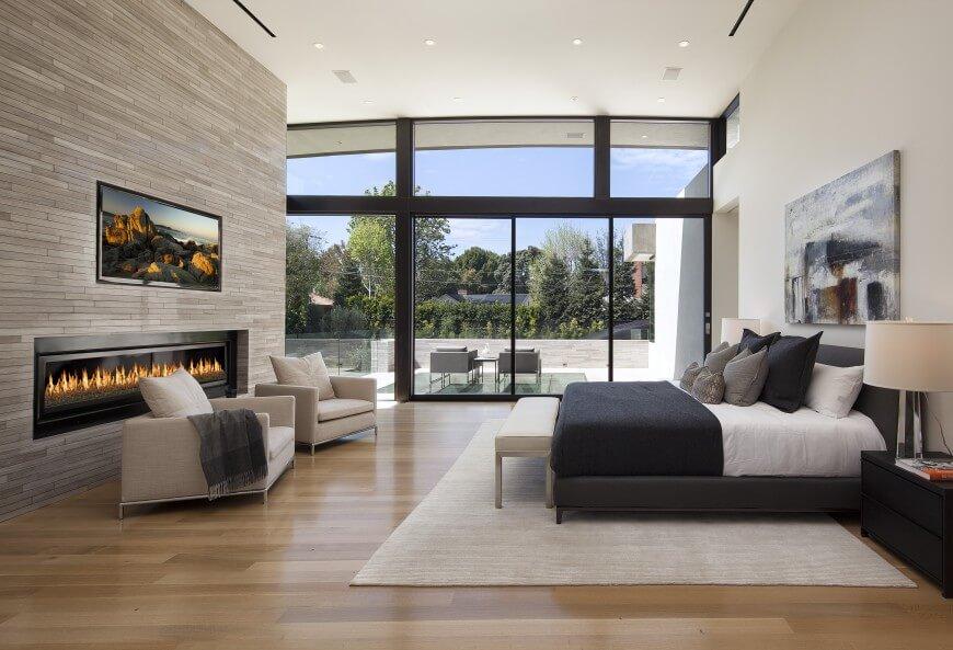 38 Gorgeous Master Bedrooms with Hardwood Floors – Modern Bedroom Rugs