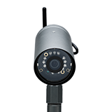 Wireless outdoor video surveillance camera by Frontpoint Security