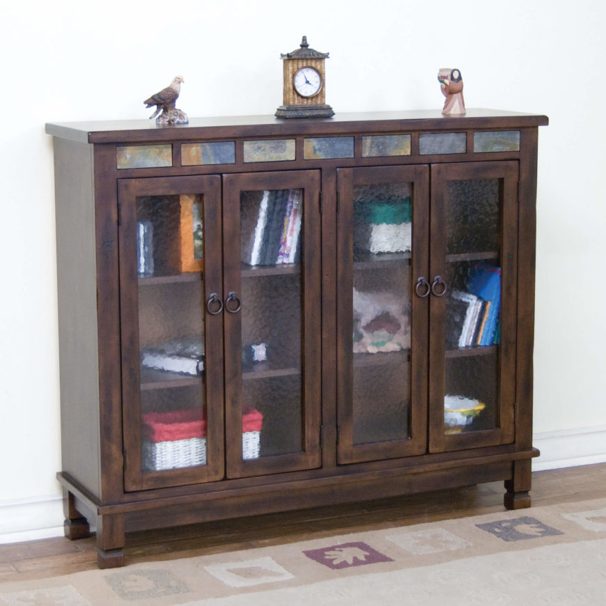 The barrister bookcase design was originally crafted to assist lawyers in  the storage and mobility of