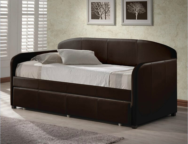 daybeds are used for sleeping lounging reclining and seating often in common