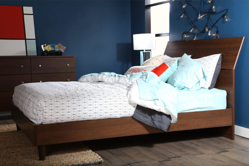 Attractive Mid Century Style Beds Bring 1950u0027s And 60u0027s Style To The Frame, With Often