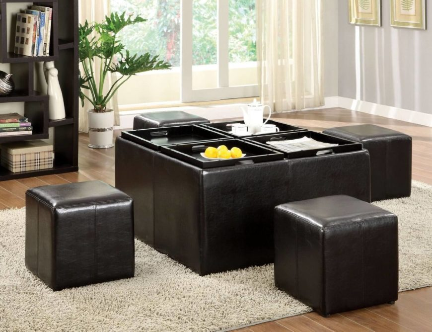 living room storage ottoman. Nested ottomans combine many useful aspects of several designs  including storage capacity reconfigurability 20 Types Of Ottomans 2018 Ultimate Ottoman Buying Guide