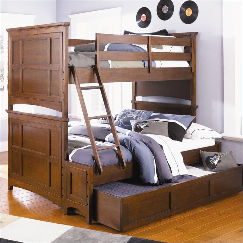 A Standard Trundle Bed Tucks A Secondary Bed Below The Main One, Usually On  Casters