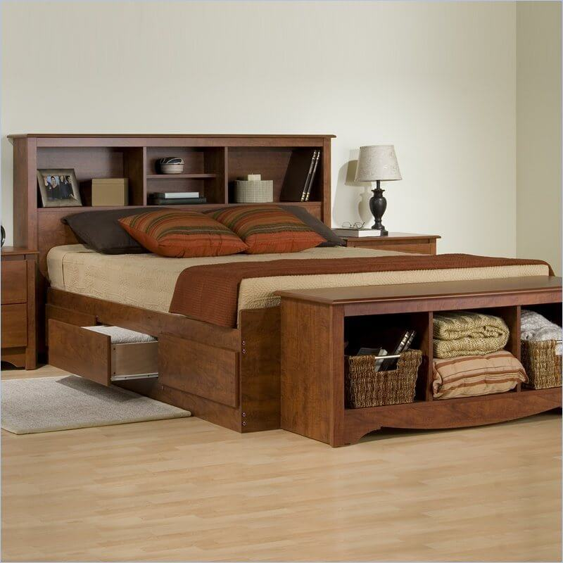 our most common and oldest furniture building material wood is pretty self explanatory it - Wood Frame Bed