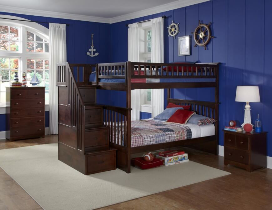 Wood Is The Most Popular Material For Crafting Bunk Beds By Some Distance It Offers