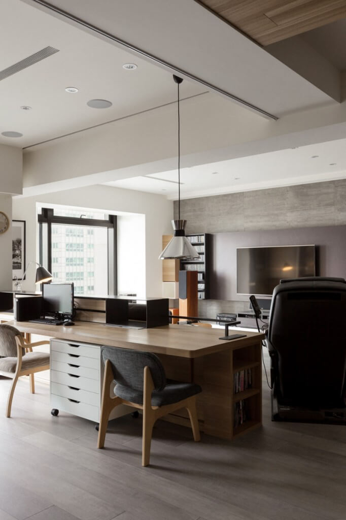 150 luxury modern home office design ideas pictures for Office design types
