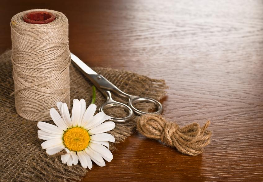 Burlap Crafting Materials