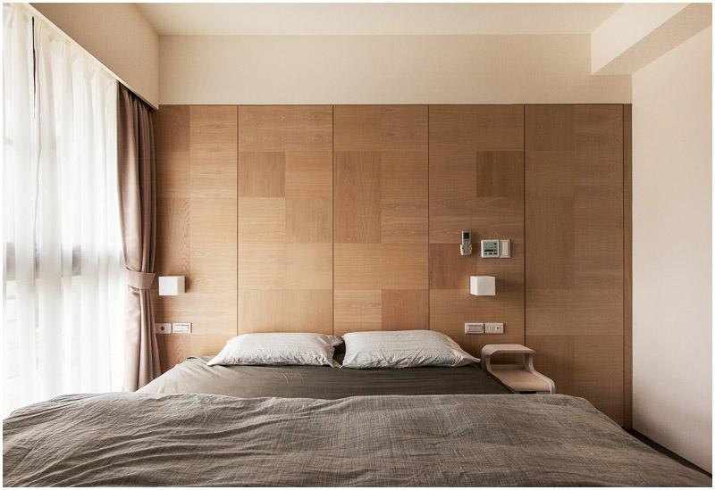 Minimalist Hu Residence Of Hsinchu With Natural Wood