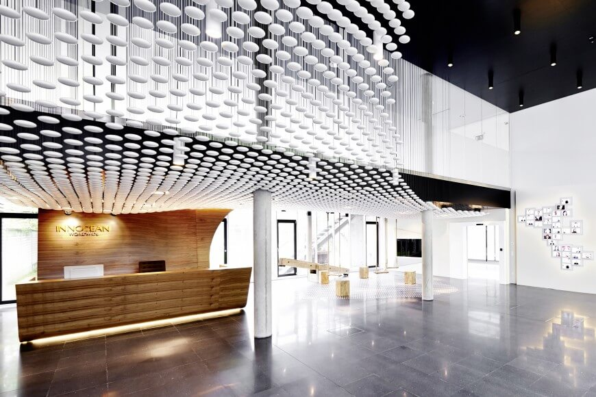 Remarkable modern corporate office interior design for Interior design firms europe