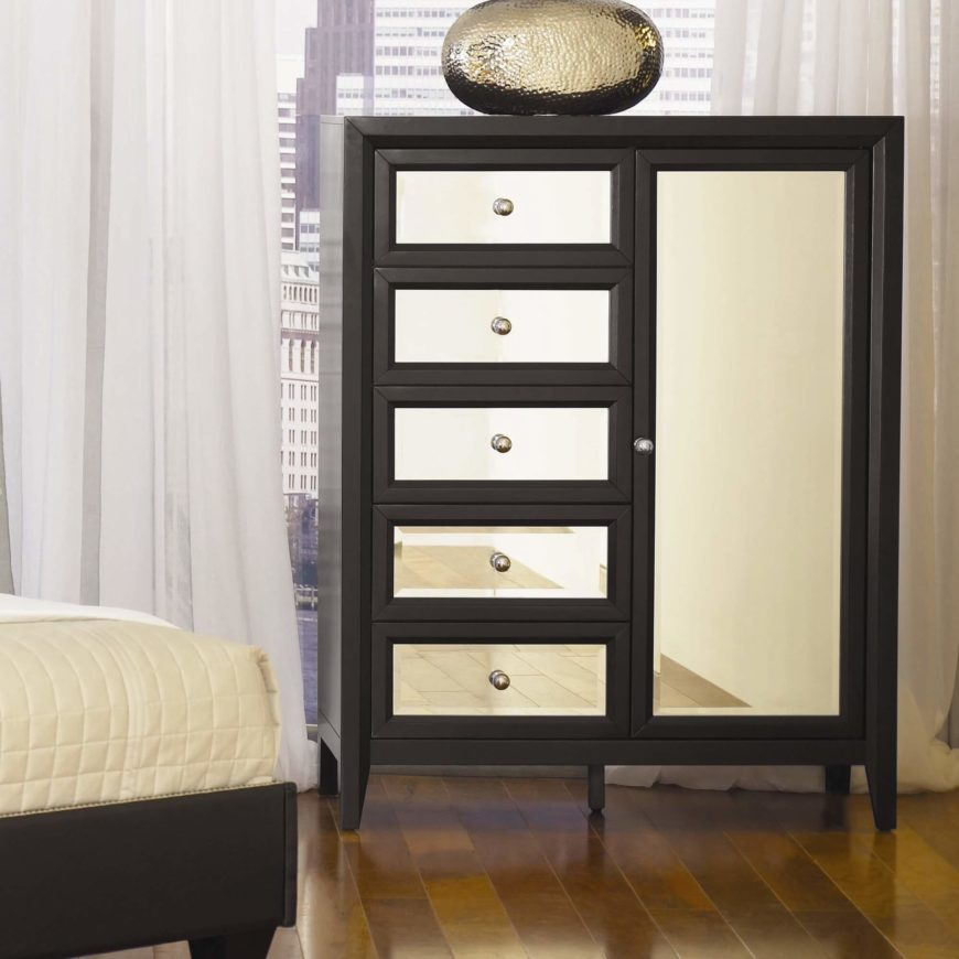 The Gentlemenu0027s Chest Is A Configuration Wherein The Drawer Column Is  Paired With A Large Vertically .