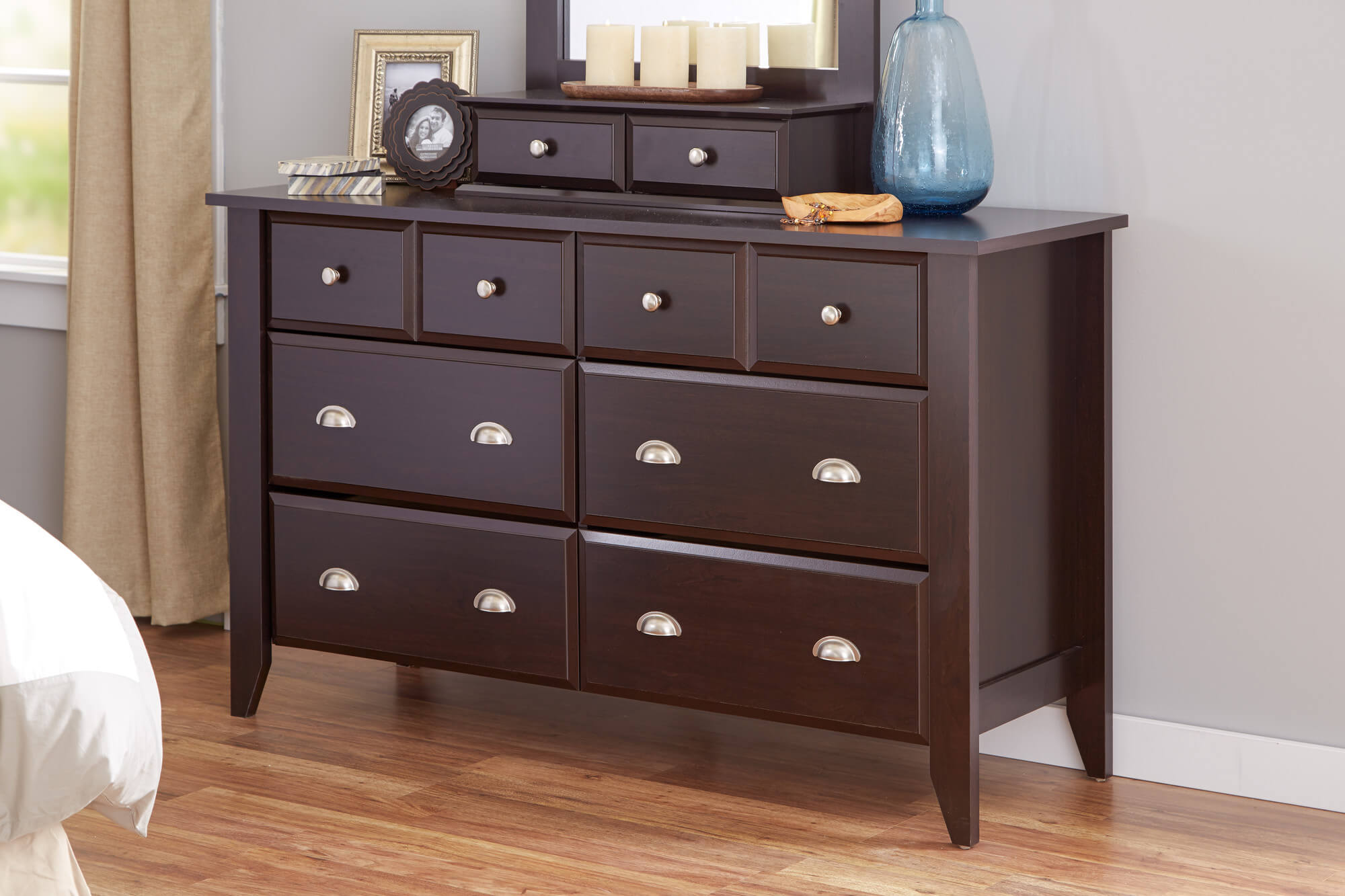 The standard dresser design came from one of the oldest pieces of furniture invented the