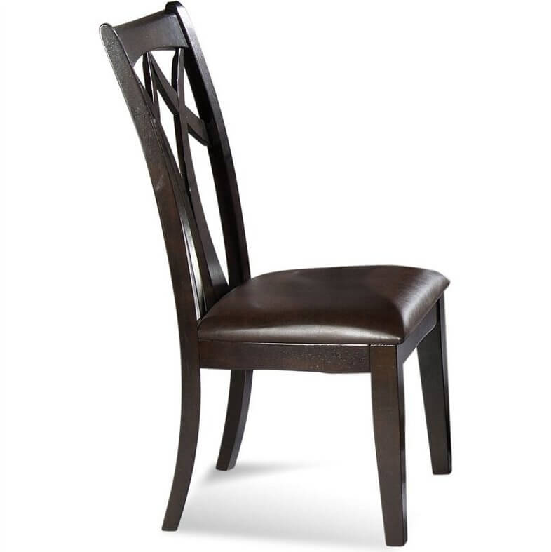 Leather Seat Dining Chairs Are Incredibly Popular For Good Reason They Offer The Comfort Of