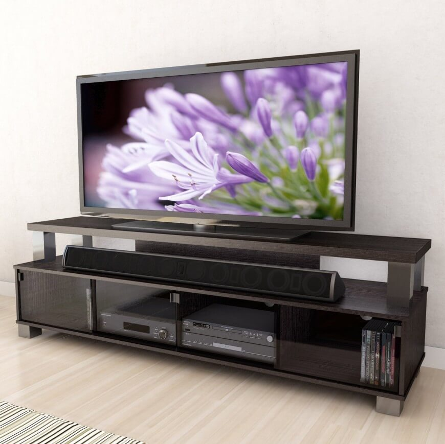 Tv Stand Modern Designs : Types of tv stands comprehensive buying guide