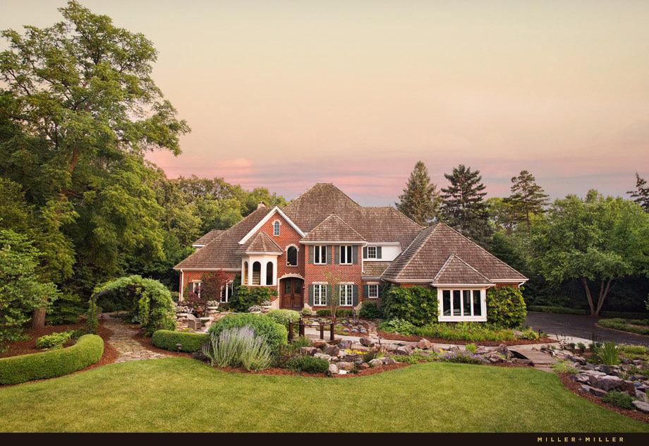 Luxury custom home for sale by Miller & Miller Real Estate